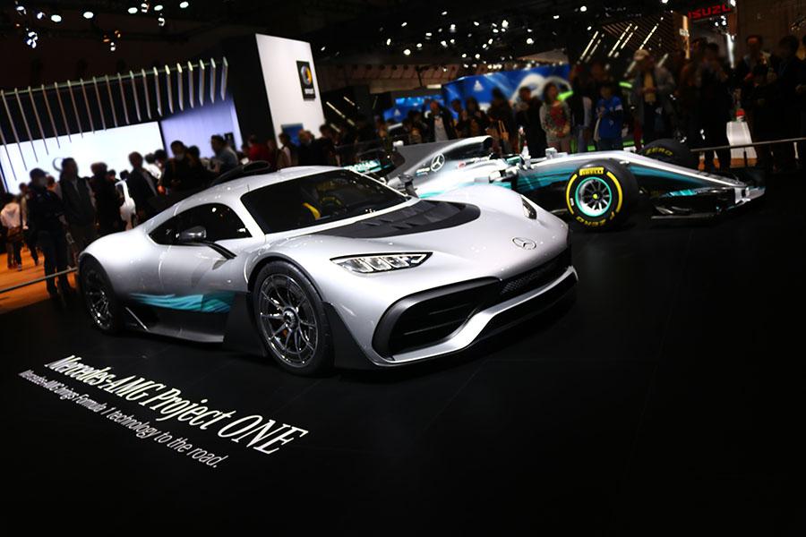 東京モーターショー2017 メルセデスベンツ AMGプロジェクトワン