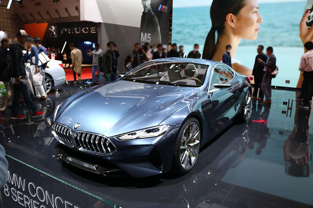 東京モーターショー2017 BMW 8シリーズコンセプト
