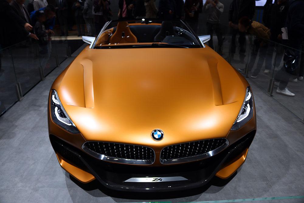 東京モーターショー2017 BMW Z4コンセプト