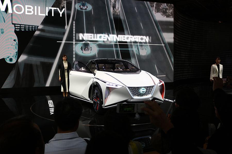 東京モーターショー2017 日産IMx