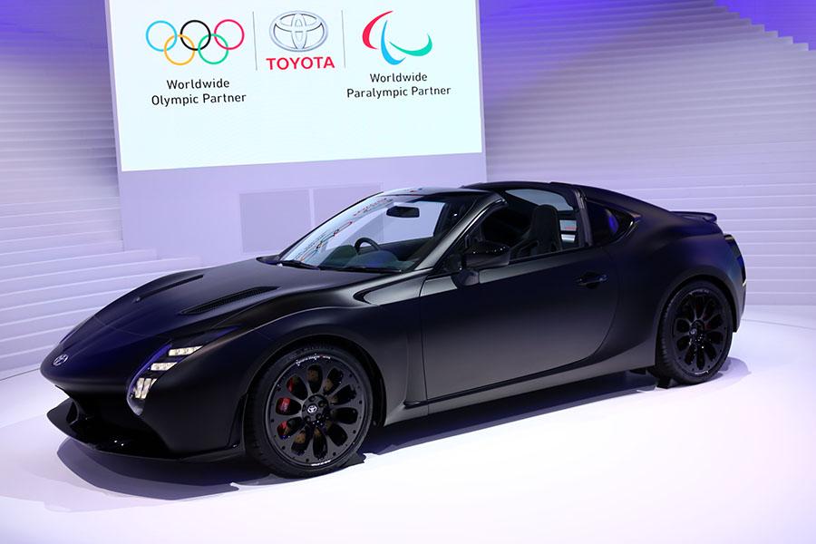 東京モーターショー2017 トヨタ GR HV Sports Concept