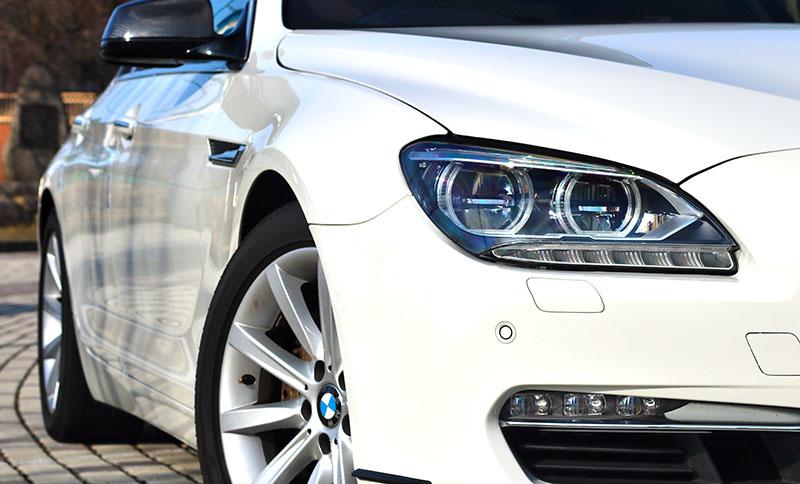 BMW 640i グランクーペ LEDヘッドライト