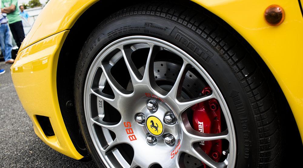 360モデナ タイヤとホイール