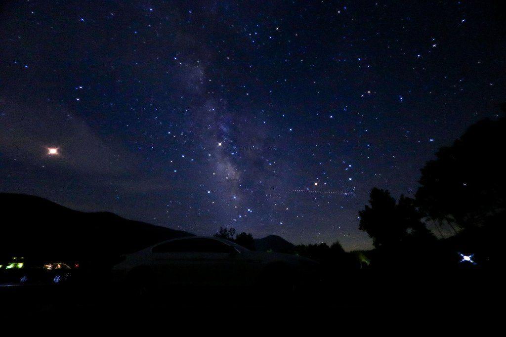 【画像1】星空を綺麗に写した画像