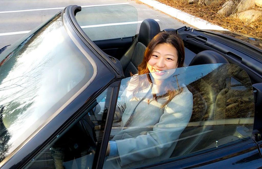 ナナの愛車 BMW Z3