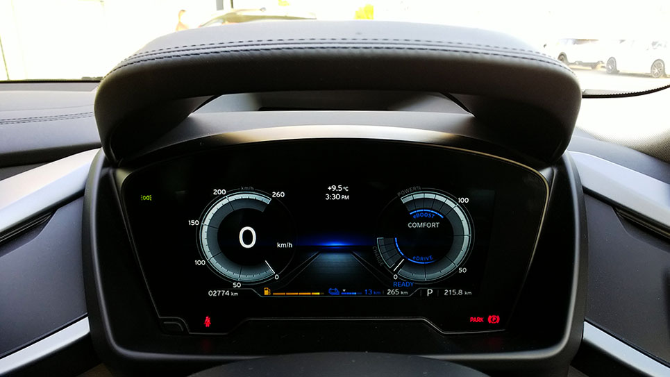 BMW i8 メーターパネル