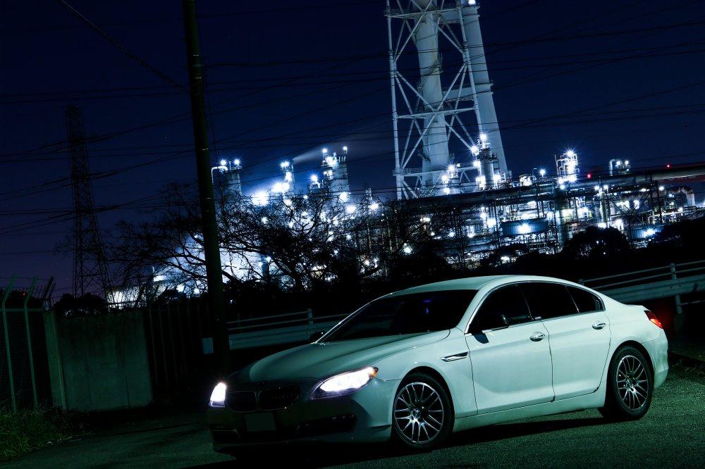 千葉県市原市の工場夜景